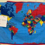 World Map Quilt #219