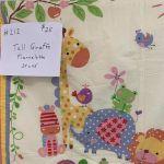 Giraffe Quilt #212