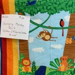 Swinging Monkey Quilt #220
